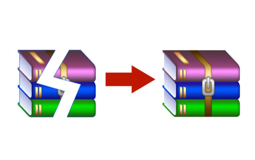 ریکاوری و تعمیر فایل های RAR |  خدمات کامپیوتری تلفنی