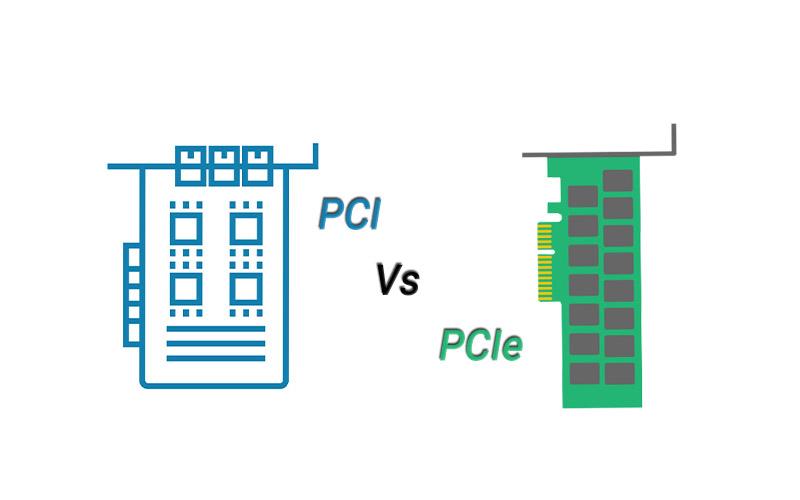 تفاوت pci و pcie